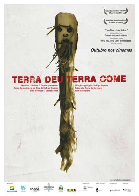 This is a poster for the movie Terra Deu, Terra Come