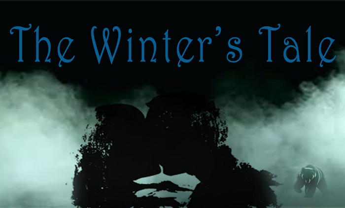 Graphic for the Dickinson College production of Shakespeare's The Winter's Tale.
