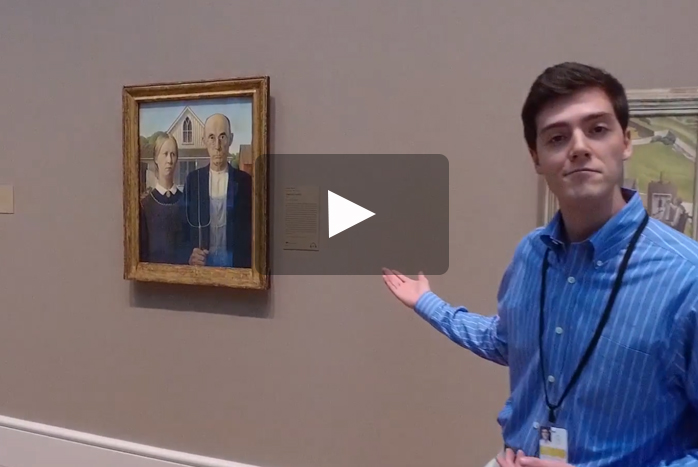 History major Alden Mohacsi '19 is spending his summer providing tours of the renowned Art Institute of Chicago as part of a summer internship program.