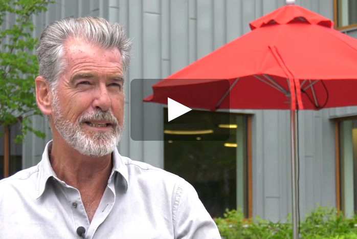"Actor and Activist Pierce Brosnan Is ""Absolutely Blown Away"" by Dickinson College's Sustainability Efforts"