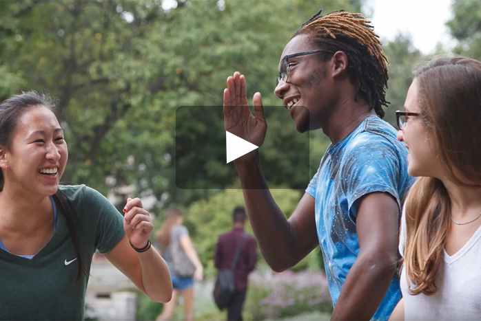 What makes students apply Early Decision to Dickinson? There are many unique reasons. For Kaliph Brown '20, he felt at home and discovered a diverse, inclusive community where he knew he would thrive.