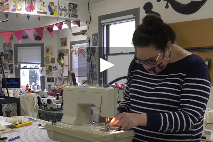 Introduction to Stage Technology Gets Students to Sew at Home