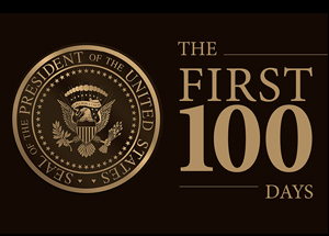 First 100 Days graphic