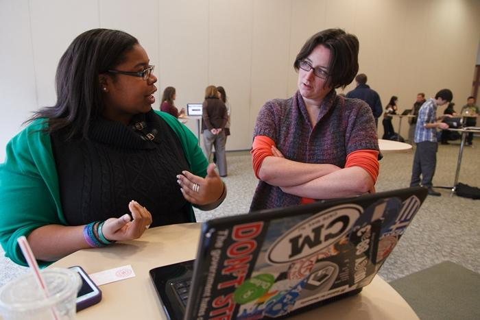 the digital boot camp highlights student work in the digital humanities.