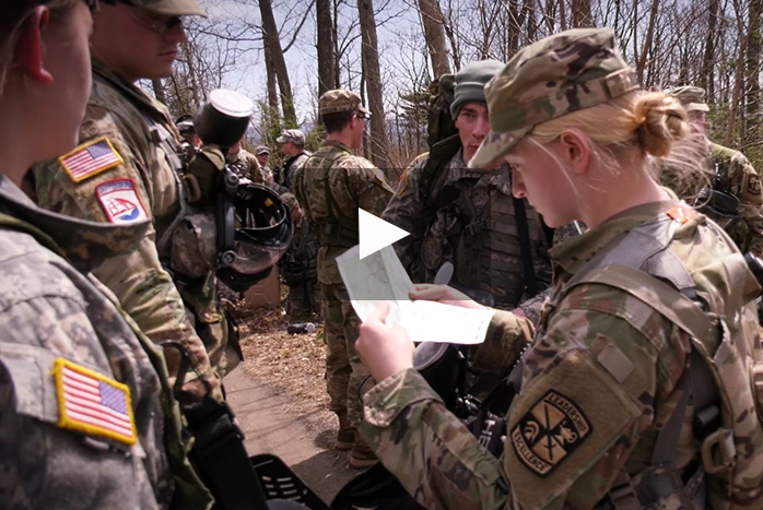 Dickinson College ROTC Students Train at Letterkenny Army Depot