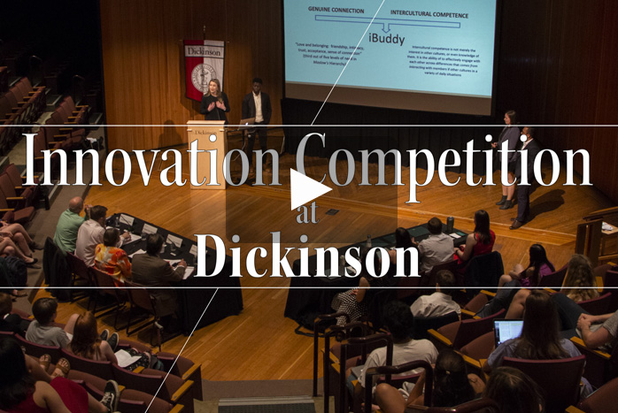 Dickinson College Innovation Competition Crowns Winner