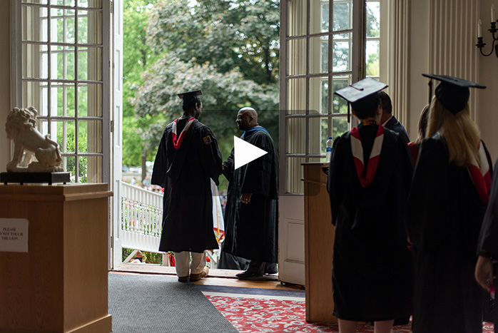 Commencement Video Image
