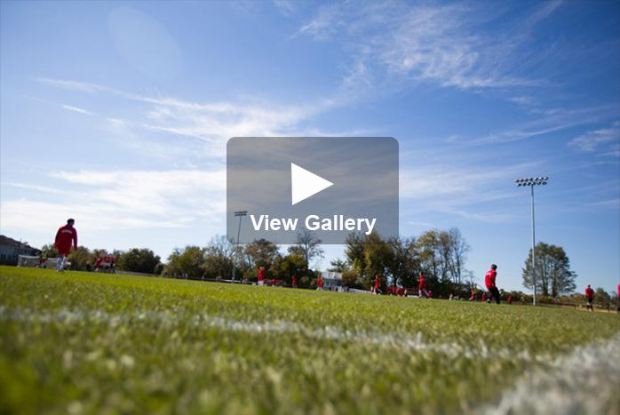 Soccer field view gallery image