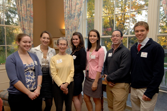 Alpha Chapter of Phi Beta Kappa tutors, 2010