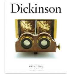 Dickinson Magazine: Winter 2014 cover