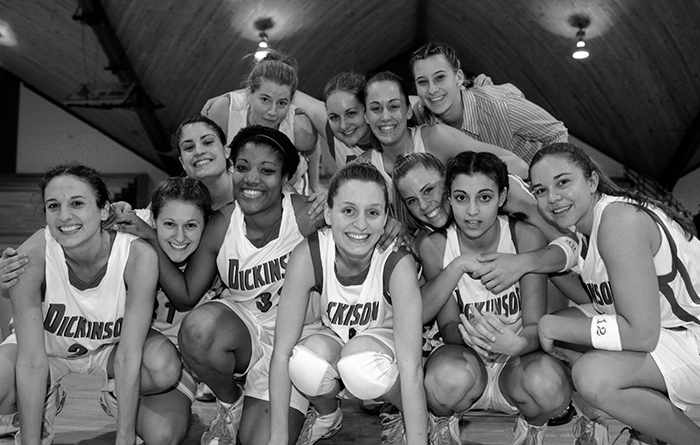 The 2004-05 women's basketball team.