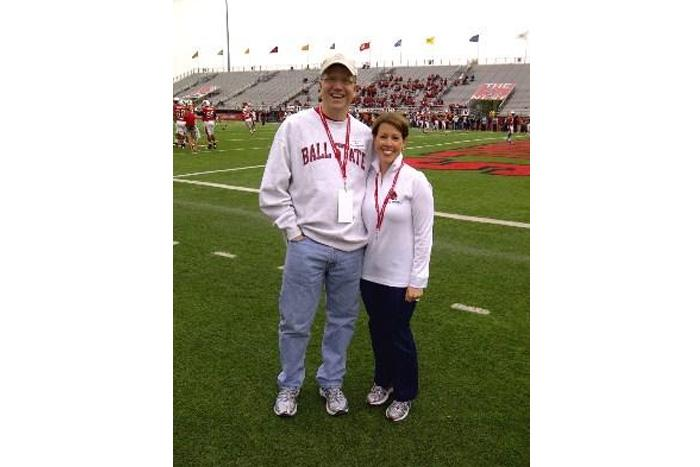 Picture of Greg Zimmerman at Ball State Football Game