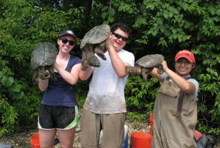 Holding giant snappers jpg