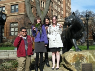 Dickinson Students Travel to the University of Pittsburgh 2010 1
