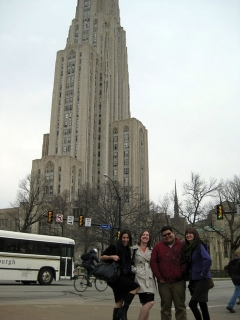 Dickinson Students Travel to the University of Pittsburgh 2010 4