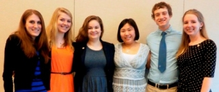 KDP Spring 2014 Induction Officers