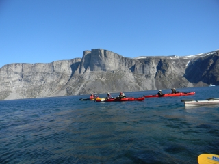 ERSC Baffin Island Multiple Kayaks