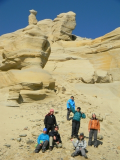 ERSC Baffin Island Prof Key and Students