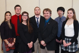 KDP Spring 2014 Induction Members