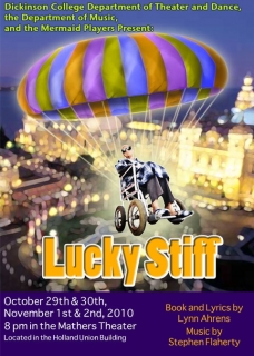 Lucky Stiff Program Cover